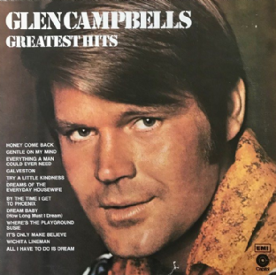 Glen Campbell ‎- Glen Campbell's Greatest Hits (LP) (VG-/G++)
